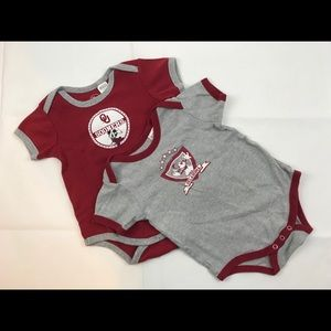 Disney Athletic OU Sooners Onesies, 24M